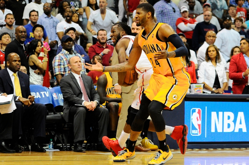 Paul George Suffers Gruesome Leg Injury